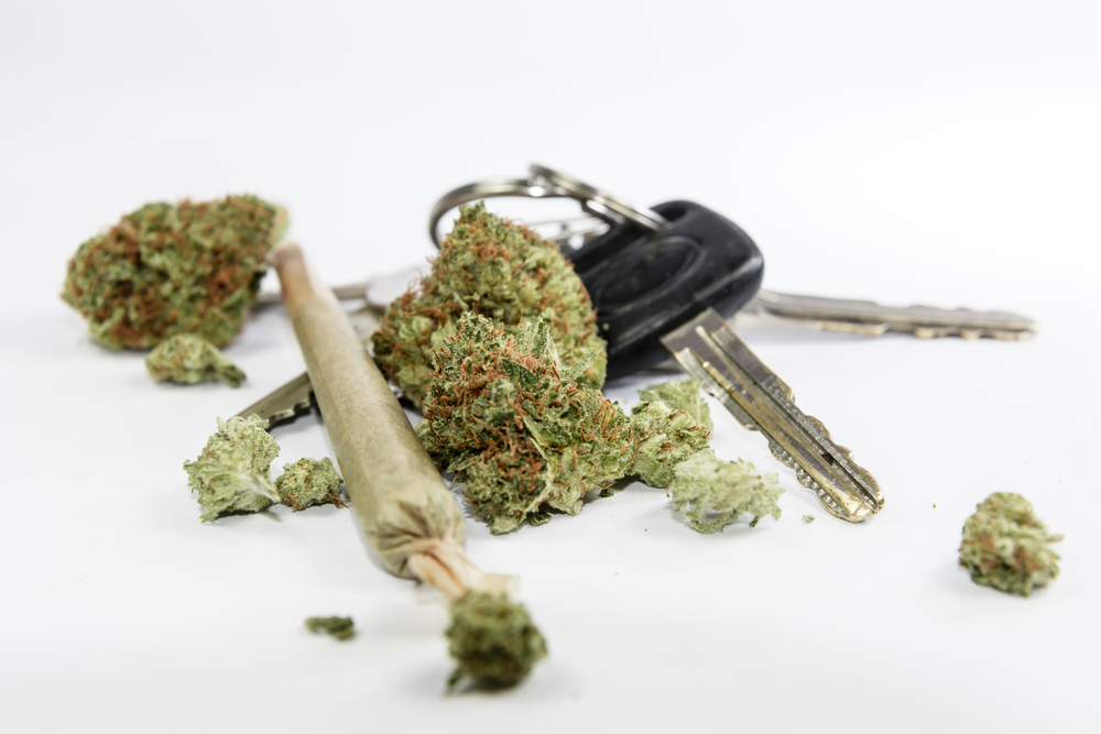 cannabis and keys